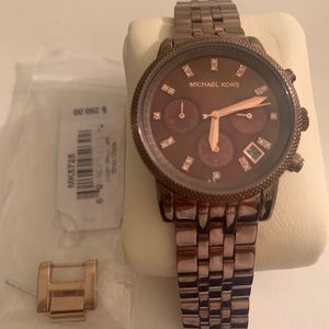 Micheal Kors Rose Gold Stainless Steel watch